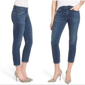 NWOT Citizens of Humanity Agnes Crop Blue Jeans 24